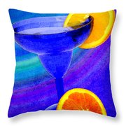 Refreshing Drink Throw Pillow