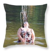 Refreshing Throw Pillow