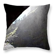 Refreshing Tunnel Throw Pillow