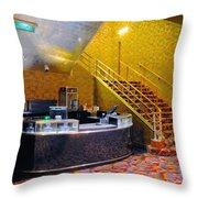 Refreshment Stand Radio City Music Hall Throw Pillow