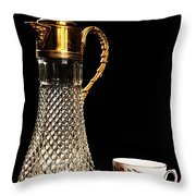 Refresment Throw Pillow by Camille Lopez