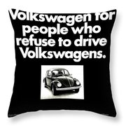 Refusers Throw Pillow