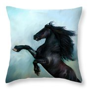 Regaining Strength Throw Pillow by Tamer and Cindy Elsharouni