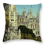 Regaleira Palace I Throw Pillow