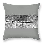 Regatta - 2594jpg Throw Pillow