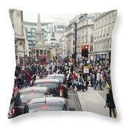 Regent Street Throw Pillow