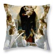 Regina Angelorum Throw Pillow