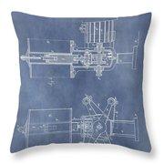 Regulator For Dynamo Electric Machine Patent Throw Pillow