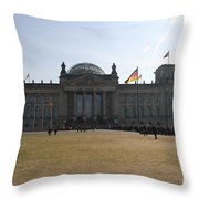 Reichstag Berlin - German Parliament Throw Pillow
