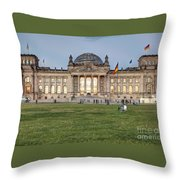 Reichstag Berlin Germany Throw Pillow