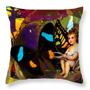 Rejoice And Let Go Throw Pillow