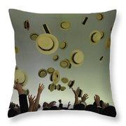 Rejoice Two Throw Pillow