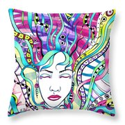 Rejuvenation  Throw Pillow by Shawna Rowe
