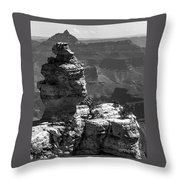 Relative Perspective Throw Pillow