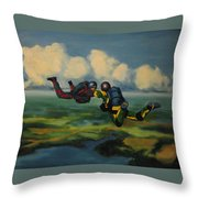 Relative Work Throw Pillow