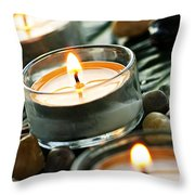 Relax Throw Pillow by Elena Elisseeva