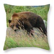 Relax Man Throw Pillow