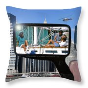 Relaxation Ny Style Throw Pillow