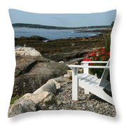 Relaxing Afternoon Throw Pillow