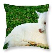 Relaxing Kid Throw Pillow