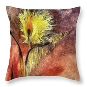 Relay Fire Throw Pillow