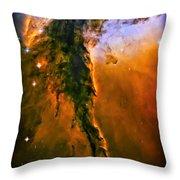 Release - Eagle Nebula 3 Throw Pillow