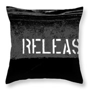 Release Two Throw Pillow