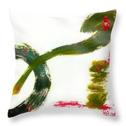 Release Yourself Throw Pillow