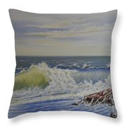 Relentless Harmony Throw Pillow