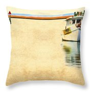 Relentless On The Water Throw Pillow