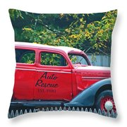 Relic Restored Throw Pillow