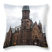 Religion In Decline Throw Pillow