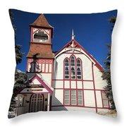 Religious Bent Throw Pillow