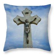 Religious Cross Throw Pillow