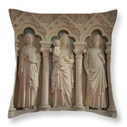 Religious Relief Throw Pillow