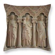 Religious Relief Throw Pillow