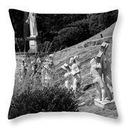 Religious Statues Throw Pillow