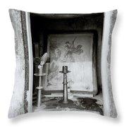 Religious Window Throw Pillow