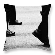 Reluctant March  Throw Pillow