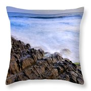 Remains Of Volcanoes Throw Pillow
