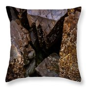 Remarkable Rocks Throw Pillow