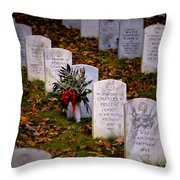 Remember Our Dead Throw Pillow