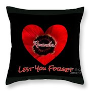 Remember With Love Throw Pillow