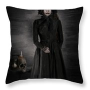 Remember Your Mortality Throw Pillow