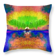 Rememberances Of The Perfect Day Throw Pillow