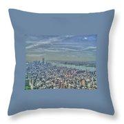 New York Remembering 9/11 Throw Pillow