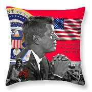 Remembering Camelot Throw Pillow