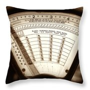 Remembering Mail Throw Pillow