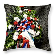 Remembering Old Friends Throw Pillow