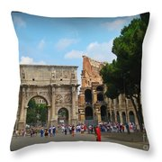 Remembering The Mighty Caesar Throw Pillow